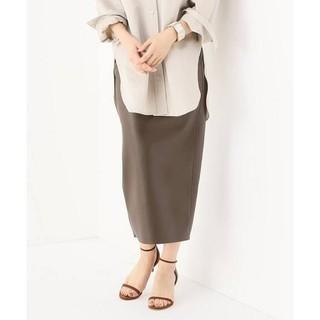 プラージュ(Plage)の19SS新品タグ付フェイクレザータイトスカート34(ひざ丈スカート)