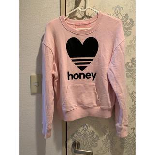 ハニーミーハニー(Honey mi Honey)のHONEY MI HONEY スウェット(トレーナー/スウェット)