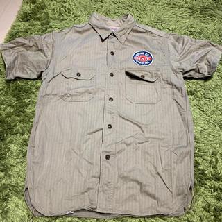 ザリアルマッコイズ(THE REAL McCOY'S)の半袖シャツ ワークシャツ(シャツ)