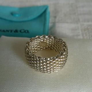 ティファニー(Tiffany & Co.)のティファニー💛シルバーメッシュリング(リング(指輪))