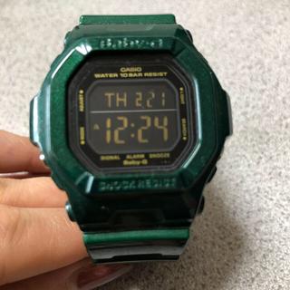 ベビージー(Baby-G)のBaby-G 腕時計(グリーン)(腕時計)