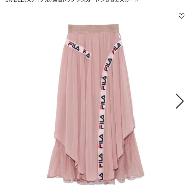snidel - スナイデル×FILAコラボスカートの通販
