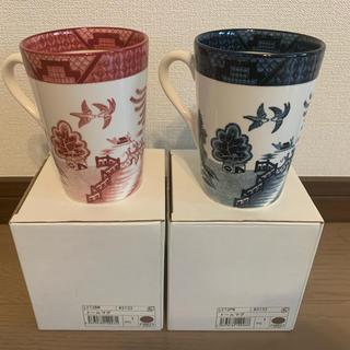 ニッコー(NIKKO)のNIKKO tableware 山水シリーズ ペアトールマグ(グラス/カップ)