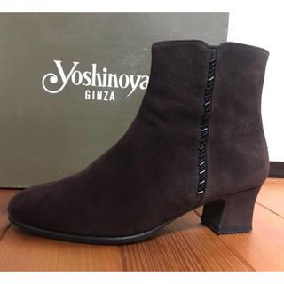 ダイアナ(DIANA)のショートブーツ【Yoshinoya GiNZA】※未使用※ 21.5cm(ブーツ)