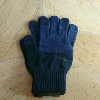 アディダス(adidas)のアディダス手袋 メンズ スマホ対応(手袋)