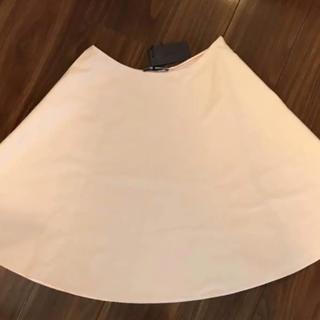 プラダ(PRADA)のプラダ フラノ素材 春色スカート40(ひざ丈スカート)
