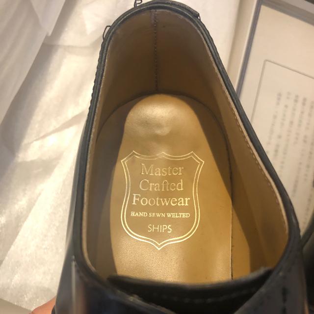 SHIPS(シップス)のSHIPS 革靴 8.5 master craft scotch grain メンズの靴/シューズ(ドレス/ビジネス)の商品写真