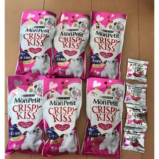 ネスレ(Nestle)のモンプチ クリスピーキッス30g×6袋 おまけ4つ付き(猫)