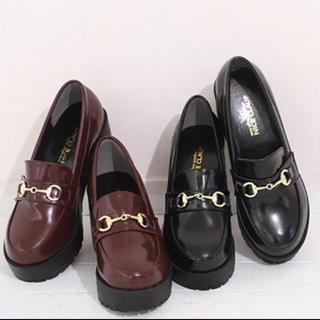 ナイスクラップ(NICE CLAUP)のNICE CLAUP 厚底ローファー(ローファー/革靴)