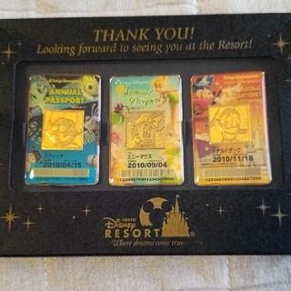 ディズニー(Disney)のディズニー 非売品 年間パスポートのクリップ(キャラクターグッズ)