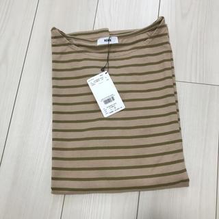 ロデオクラウンズ(RODEO CROWNS)のボーダーロングTシャツ(Tシャツ/カットソー(七分/長袖))