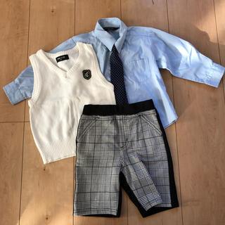 コムサイズム(COMME CA ISM)のキッズ セレモニー服 80から90(セレモニードレス/スーツ)