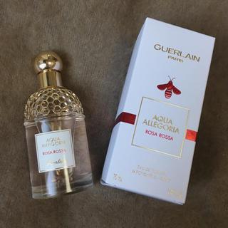 ゲラン(GUERLAIN)の美品!ゲラン アクアアレゴリア ローザロッサ Rosa Rossa(香水(女性用))