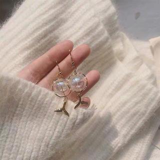 ロキエ(Lochie)の୨୧ Vintage rétro mermaid bubble pierce(ピアス)