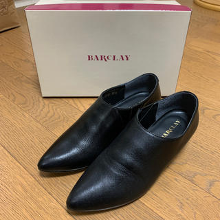 バークレー(BARCLAY)のBARCLAY バークレー 神戸婦人靴 23cm ブラック ショートブーツ 黒(ブーティ)