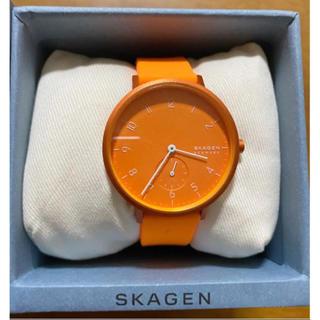 スカーゲン(SKAGEN)のスカーゲン 腕時計 ネオン オレンジ(腕時計)