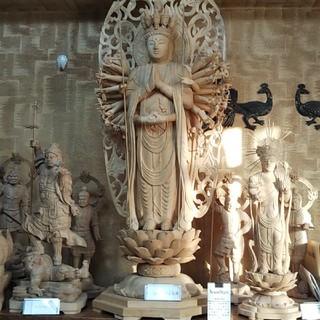 十一面千手観音立像(彫刻/オブジェ)