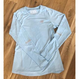 ニューバランス(New Balance)のニューバランス 長袖 インナーシャツ レディース(トレーニング用品)