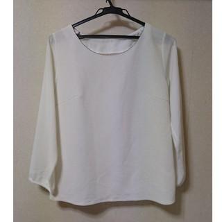 ORIHICA - カットソー ホワイト スーツ用インナー ORIHICA