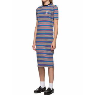 ステューシー(STUSSY)のSTUSSY Selma Stripe Dress(ひざ丈ワンピース)