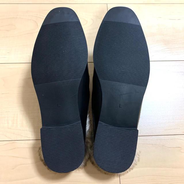 GU(ジーユー)の未使用 GU ローファー ファー付き レディースの靴/シューズ(ローファー/革靴)の商品写真