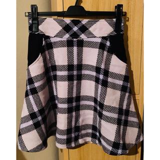リランドチュール(Rirandture)のリランドチュール チェックスカート 0サイズ(ひざ丈スカート)