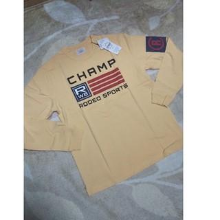 ロデオクラウンズ(RODEO CROWNS)の新品未使用メンズロングTシャツ   M(Tシャツ/カットソー(半袖/袖なし))