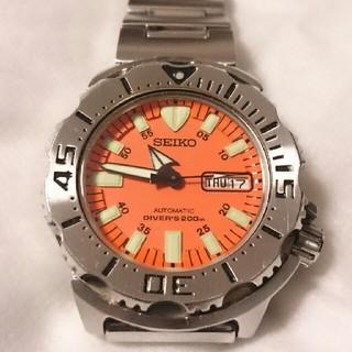 セイコー(SEIKO)のSEIKO セイコー オレンジモンスター 自動巻き(腕時計(アナログ))