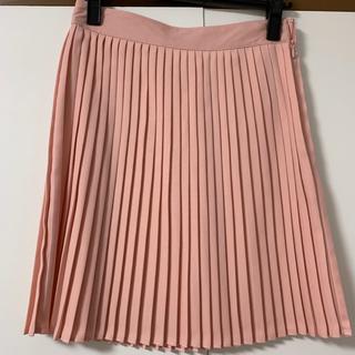 エイチアンドエム(H&M)の新品 プリーツスカート ピンク(ミニスカート)