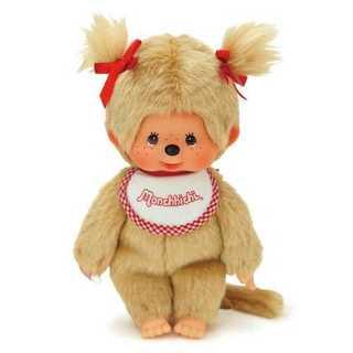 モンチッチ プレミアムスタンダード ベージュ 女の子 ツインテール Sサイズ(ぬいぐるみ/人形)