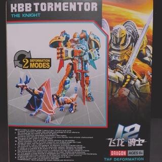 KBB Robot Dragon Model Night Tormentor Deformation Transformers Figure Toy NEW