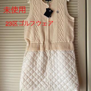 ニジュウサンク(23区)の☆未使用☆ 23区スポーツ ゴルフウェア ワンピース(ゴルフ)