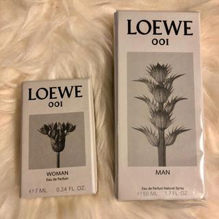 ロエベ(LOEWE)のLOEWE 香水 001 MAN WOMANミニロエベ Edp 50ml 7ml(ユニセックス)