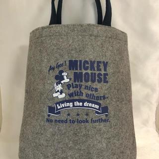 ミッキーマウス(ミッキーマウス)の【非売品】ミッキーマウス トートバッグ(トートバッグ)