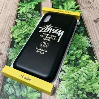 ステューシー(STUSSY)のiPhone XR STUSSY(iPhoneケース)
