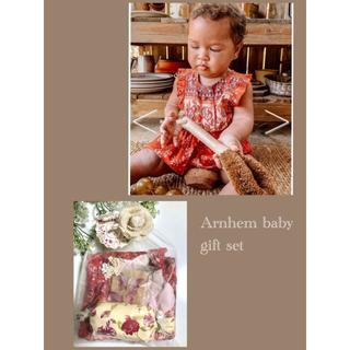 ロンハーマン(Ron Herman)の出産祝い⁎⋆*アーネム⁎⋆*ベビーギフト ロンパース ワンピース 靴下(ロンパース)