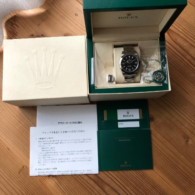 ロレックス デイトナ 緑 、 ROLEX - ロレックス エクスプローラーⅠ 214270 2018年の通販 by パンダ's shop