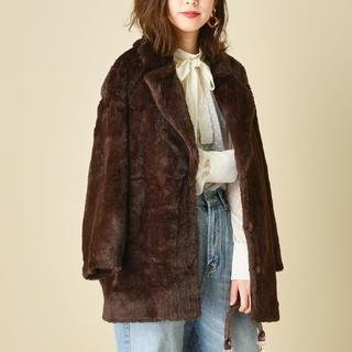 ナチュラルクチュール(natural couture)のnaturalcouture エコファーコート(毛皮/ファーコート)