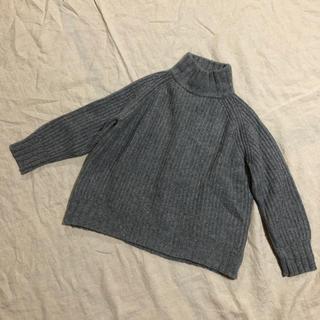 ツムグ(tumugu)のぽよぽいさま tumugu ウール タートルニット(ニット/セーター)