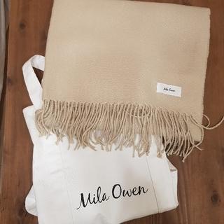 ミラオーウェン(Mila Owen)のミラオーウェン ストール バッグ(ストール/パシュミナ)