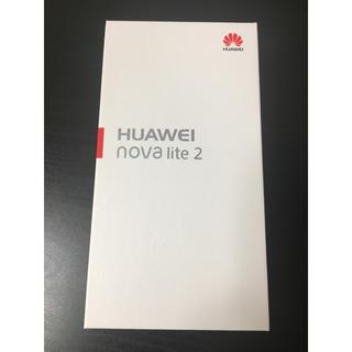 アンドロイド(ANDROID)のHUAWEI nova lite2 購入不可(スマートフォン本体)