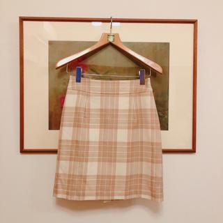 デビュードフィオレ(Debut de Fiore)の雑誌掲載品♡チェックスカート(ミニスカート)