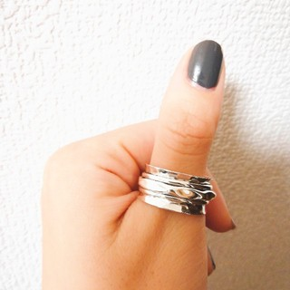 bijumam ローリングリング シルバー925(リング(指輪))