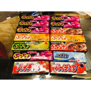 ユーハミカクトウ(UHA味覚糖)のぷっちょ&ハイチュウ(菓子/デザート)