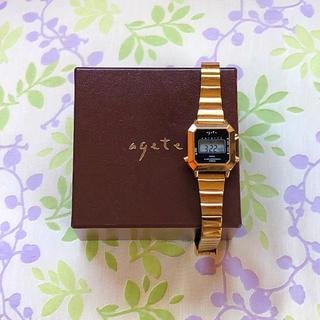 アガット(agete)のwestgowest  さま 😊 agete㊽デジタル腕時計・稼動品✨(腕時計)