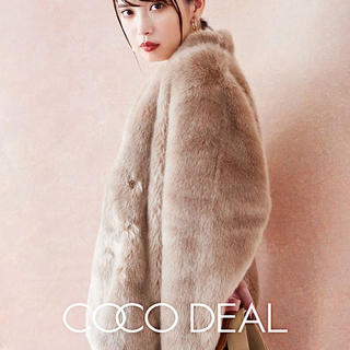ココディール(COCO DEAL)のファーコート(毛皮/ファーコート)