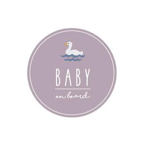 Baby on board マグネット カーステッカー(外出用品)