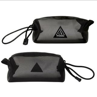 スタイルナンダ(STYLENANDA)の3CE ポーチ ブラック メッシュ Mesh pocket pouch(ポーチ)