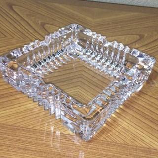 トウヨウササキガラス(東洋佐々木ガラス)の灰皿クロッシング(灰皿)