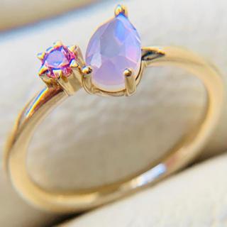 ヨンドシー(4℃)の4°C ピンキーリング k10  イエローゴールド(リング(指輪))